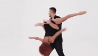 Acro dance act by Dmitriy and Ksenia www
