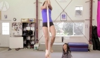 Aerial Silks for beginners Gravity-defying