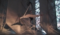 Aerial Sling Dance Olympic Stadium by Katerina Soldatou