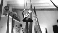Aerial dance primary- intermediale and advanced classes yiota dimopoulou