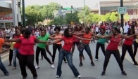 African Contemporary Dance Flash Mob - Downtown Silver Spring Md