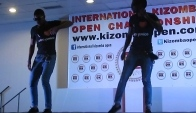 Afro Panico group in International Kizomba Open Spain
