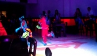 Amazing Children dancing salsa in Cali Colombia