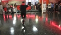 Amazing Footwork Dance Battle King Dre vs J R