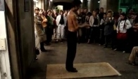 Amazing flamenco dancer in Barcelona