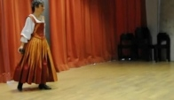 Ana Yepes performs Spanish Baroque Dance