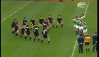 Anderson challenges the Haka