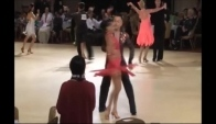 Andres and Ana Llorente Pro-am Cha-cha