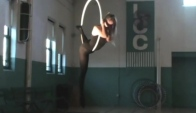 Artsfest 's Erin Lovett Sherman Aerial Dance on Lyra Radioactive