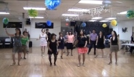 Bachata Mix Line Dance Performed by Vogue Dance Club dancers