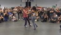 Bachata Sensual with Axel and Romina at Kob
