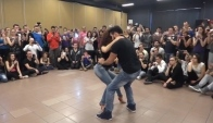 Bachata Sensual with Chaves and Silvia at Llb