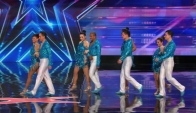 Baila Conmigo Speedy Colombian Salsa Dancers Shake Their Stuff - America's Got Talent