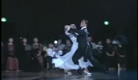 Ballroom dancing slow waltz by the baricchi couple
