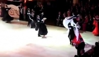 Blackpool Standard Professionals Round Quickstep Victor Fung