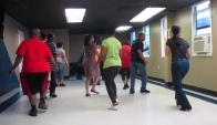 Blue Night Cha Blurred Lines Line Dance