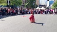 Bollywood dance on Queen Street
