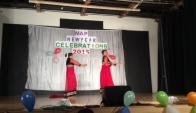 Bollywood dance performance by Tamia and Tania