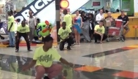 Breakdancing and Pantsula Rhythm and Beat Dance