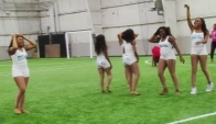 Bring It The Dolls Dance with Professional Cheerleaders