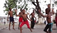 Capoeira lessons for the children of Dr Congo - Bbc News
