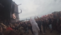 Carcass - min of Moshing Footage Bloodstock Pitcam Moshpit