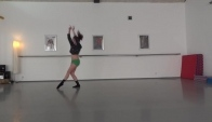 Chandelier - contemporary dance choreo