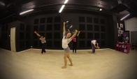Chandelier Contemporary Dance Class Step