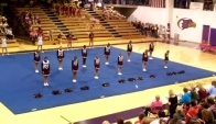 Cheerleading Competition Dancing to StarStruck