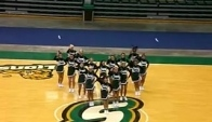 Cheerleading camp dance