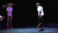 Chicago Footwork at Breakin' Convention Juke Footworking