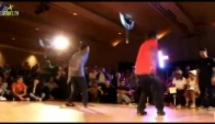 Chicago footwork vs Bubbling battle music