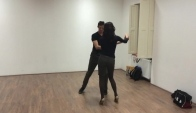 Chris and Eva sensual bachata class Sensual