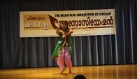 Christine Philip Bollywood dance for Chicago Malayalee