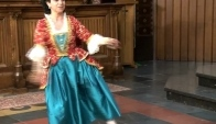 Dancing on Bach Partita nr Menuet