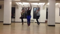 Dashaun Wesley Vogue Class At Broadway Dance Center