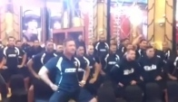 Doncaster schoolkids in Haka face-off with New Zealand