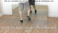 Double Toe Stand Tap Dance Move n by Rod Howell