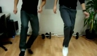 Drunken Swiss Jumpstyle Dance