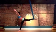 Dull Life ~ Aerial Dance ~ Flight Risk Aerial Silks