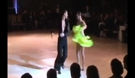 Ecaterina Liubenco and Marko Paunovic Cha-cha