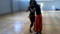Eddyvents and Norma facey dancing Semba in Finland