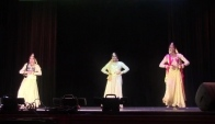 Family Night Tiara Zarina and Nadia Kathak Dance