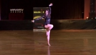 Female Salsa Solo Category - Natalia Rakhimova