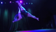 Fire Ball Cycropia Aerial Dance