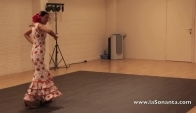Flamenco dance lessons by Elena