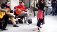 Flamenco on the Streets of Madrid