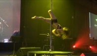 Fly Acro Pole Dance Performance