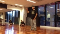 FoDance Popping dance teacher Ryan Yu practice