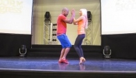 Frank Santos and Julie Camous Workshop Bachata Dominicana